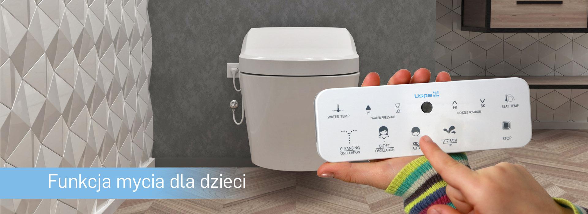 WC z bidetem